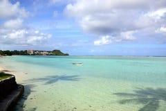 Tumon Bay in Guam Royalty Free Stock Photo