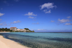 Tumon beach in Guam Stock Photography