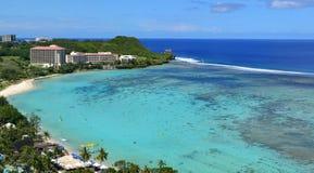 Tumon fjärd, Guam arkivbild