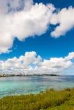 Tumon fjärd i Guam Arkivfoton
