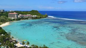 Tumon zatoka, Guam Fotografia Stock