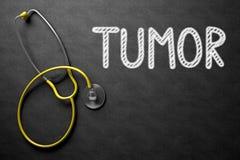 Tumore sulla lavagna illustrazione 3D Fotografie Stock Libere da Diritti
