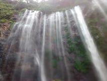 Tumpak sewu (数千瀑布) 库存图片