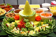 Tumpeng Royalty-vrije Stock Afbeelding