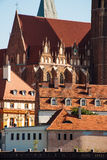 Tumski island in Wroclaw, Poland, Eastern Europe Royalty Free Stock Photography