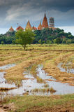 Tumsuae temple kanchanaburi Thailand Stock Photo