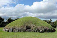 Tumuli Newgrange w Północnym - Ireland zdjęcie royalty free