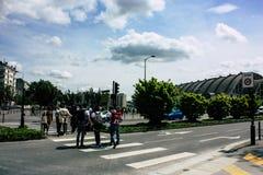 Tumult i Frankrike arkivfoton