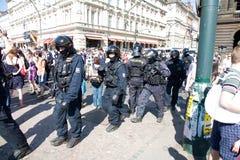 Tumulto Fotografia Stock Libera da Diritti