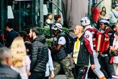 Tumulto in Francia fotografie stock