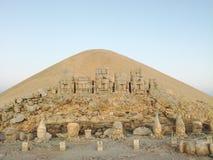 Tumulus du mont Nemrut, Turquie photos stock