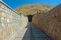 Tumulus Midas lub grobowiec Midas, królewiątko Phrygia obraz royalty free