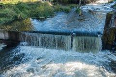 Tumwater понижается занавес воды Стоковое Изображение RF