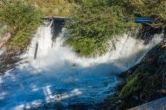 Tumwater fällt Nahaufnahme 2 Stockbilder