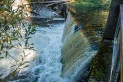 Tumwater faller vattengardinen Arkivbilder
