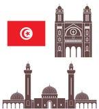tunísia ilustração royalty free