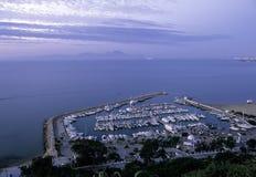 Tunísia portuária Fotos de Stock Royalty Free