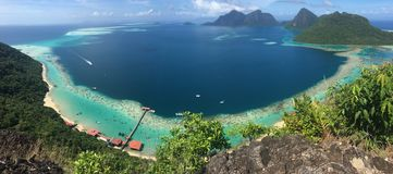 Tun θαλάσσιο πάρκο Sakaran στοκ εικόνες