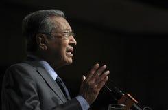 Tun ο Δρ Mahathir Mohamad Στοκ φωτογραφίες με δικαίωμα ελεύθερης χρήσης