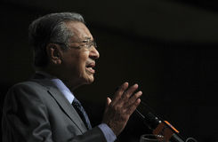 Tun Dr. Mahathir Mohamad Royalty Free Stock Photos