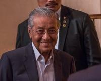 Tun Mahathir Mohamad, Mnister principal de la Malaisie Photos libres de droits
