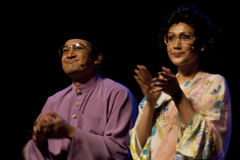 Tun Mahathir The Musical Royalty Free Stock Photos