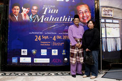 Tun Mahathir The Musical Royalty Free Stock Images