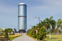 Tun Mustapha Menara (κτήριο ιδρύματος Sabah) στοκ φωτογραφίες με δικαίωμα ελεύθερης χρήσης