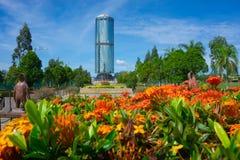 Tun Mustapha Tower στοκ φωτογραφίες με δικαίωμα ελεύθερης χρήσης