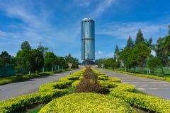 Tun Mustapha Tower στοκ φωτογραφία