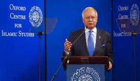 Tun Razak de Sri Najib do Dato Imagens de Stock