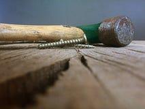 Tun Sie es sich Werkzeuge für Wiederherstellung und Erneuerung Stockbild