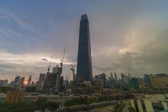 Tun TRX ανταλλαγή ή ανταλλαγή 106 Razak πύργος στοκ φωτογραφία με δικαίωμα ελεύθερης χρήσης