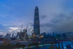 Tun TRX ανταλλαγή ή ανταλλαγή 106 Razak πύργος στοκ εικόνες
