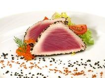 Tuna Appetizer - filet de poissons image stock