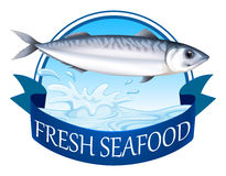 Tuna banner Royalty Free Stock Images