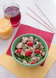 Tuna and beans salad Stock Images
