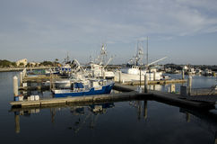 Tuna Boats Royalty Free Stock Photography