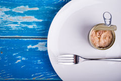 Tuna can Royalty Free Stock Photography