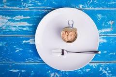 Tuna can Stock Photo