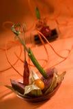 Tuna canape Royalty Free Stock Photo