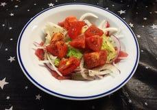 Tuna Carpaccio Royalty Free Stock Images
