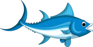Tuna cartoon for you design Royalty Free Stock Photography