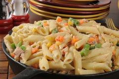 Tuna casserole closeup Royalty Free Stock Photography