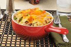 Tuna casserole dinner Royalty Free Stock Photos