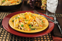 Tuna casserole dinner Royalty Free Stock Images
