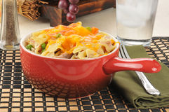 Tuna casserole dish Royalty Free Stock Image