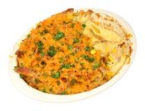 Tuna And Cheese Pasta Bake Stock Image