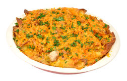 Tuna And Cheese Pasta Bake Royalty Free Stock Images