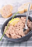 Tuna and cheese spread Stock Photography